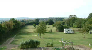 Caravan Site, Great Chesterford - near to Saffron Walden, Cambridge and Duxford (click photo to see larger image)