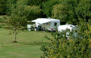 Caravan Site near to Saffron Walden, Cambridge and Duxford (click photo to see larger image)