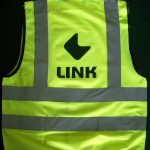 High visibility waistcoats can have a logo on the front and/or the back. High vis waistcoats are available in a wide range of children's and adult sizes